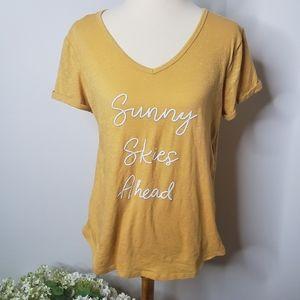 NWT Maurice's Sunny Skies Ahead graphic tshirt